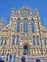 York Minster, West door, York