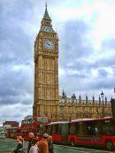 Big Ben & London Buses