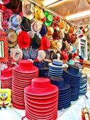 Hats at Malaga Feria