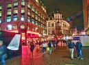Leicester Square at night