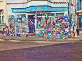 the blue anchor - beach goods shop