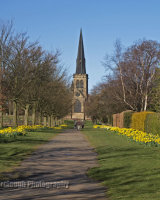 Wentworth Parish Church - Spring