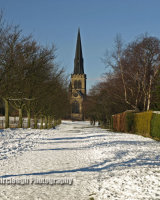 Wentworth Parish Church - Winter