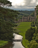Surprise View, looking towards Fountains Abbey