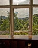 View from Wordsworth's writing desk
