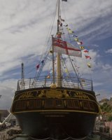 Stern of SS Great Britain