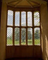 Fox-Talbot's first photographic negative was of this window