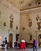 Gothic Hall - Lacock Abbey