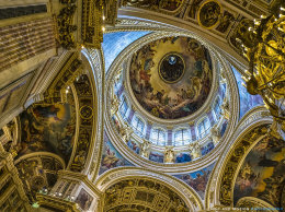 St. Issac's Cathedral Dome
