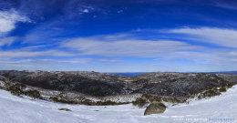 View to Cascade Hut Trail