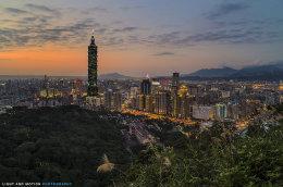 """""""Taipei Sunset"""""""