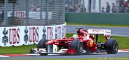 Alonso, Scuderia Ferrari, Melbourne 2011
