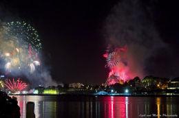 Fireworks NYE from Darling Wharf