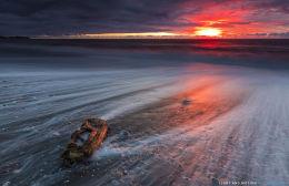 Gillespie Beach Sunset