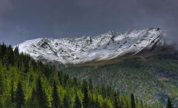 Rocky Mountains, east of Kamloops
