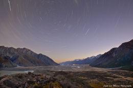 Star Trails, Tasman Lookout