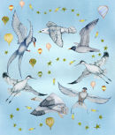 Bird Circle ceiling panels (NNUH)