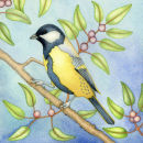Great Tit (print and card)