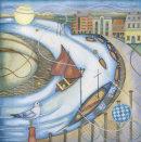 Harbour (28 x 28cm) Giclee print