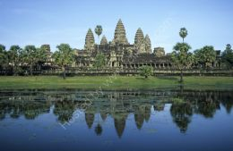 Angkor Wat reflection 3