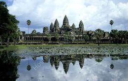 Angkor Wat reflection 1