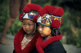Hill tribe children - northern Thailand