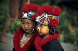 Hill tribe children - northern Thailand