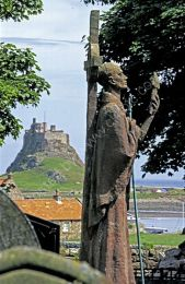 Lindisfarne Castle and Priory