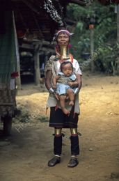 Long necked woman, northern Thailand