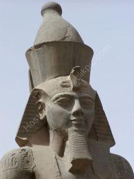 Ramses statue, Luxor