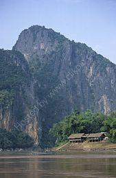 Mekong fishing village