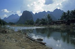 Mountains and river - Laos