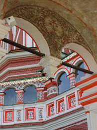 St. Basil's, Red Square, Moscow - detail