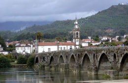 Old Portuguese bridge