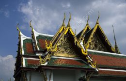 Royal Temple roofs, Bangkok