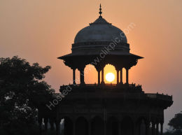 Sunset from the Taj