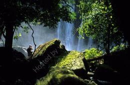 Waterfall near Seam Reap, Cambodia