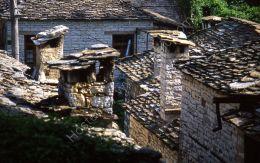 Stone roofs, Zagoria