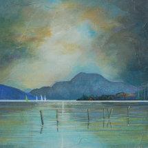 Loch Lomond : Rain Cloud