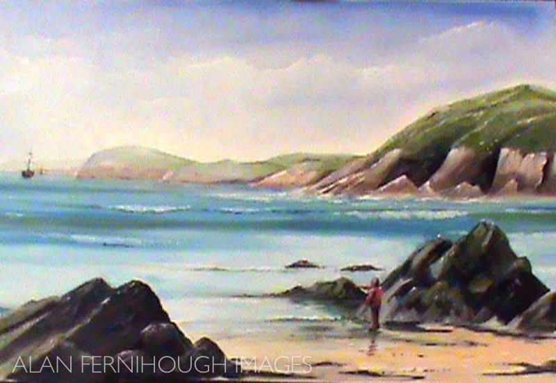Manorbier Bay, Wales