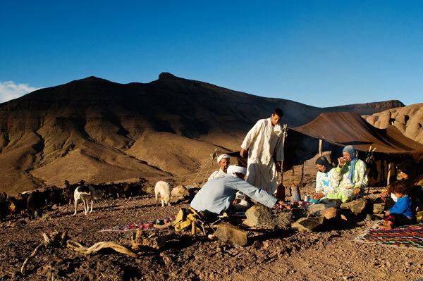 Ait Atta nomad camp