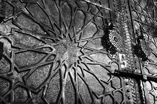 Bronze Door Marrakech