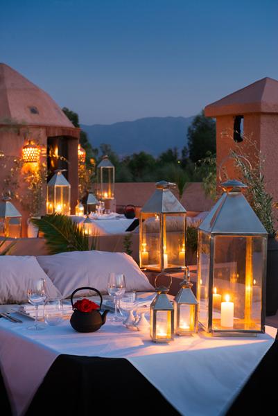 Capaldi terrace night