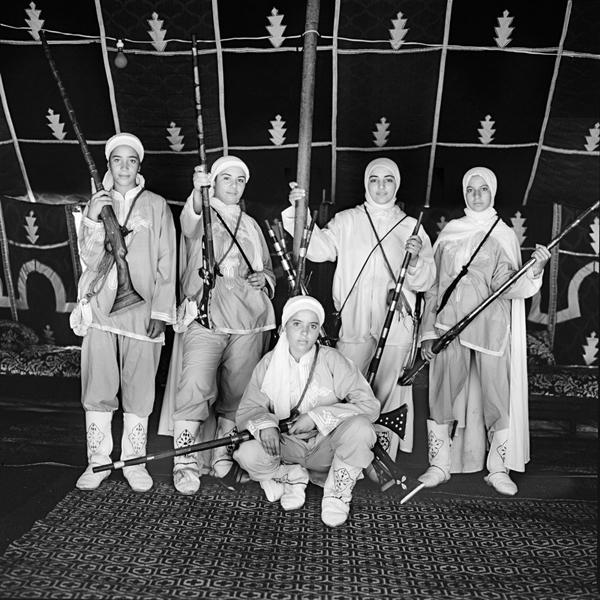 Cavalières de Ouled Amra
