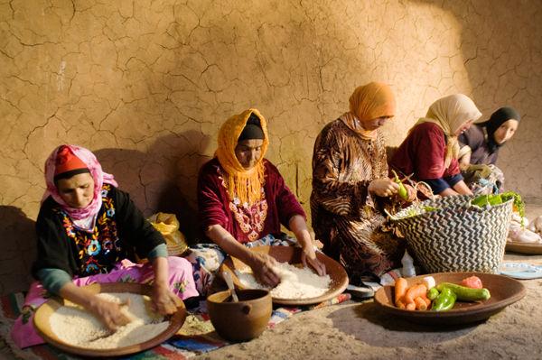 Making Couscous