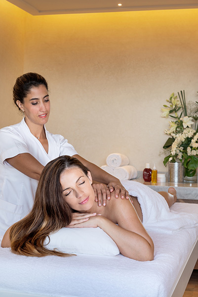 Massage Clarins Spa