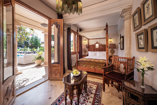 Palais Mehdi bedroom