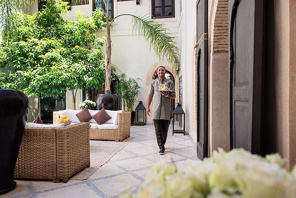 Riad Kheirredine courtyard