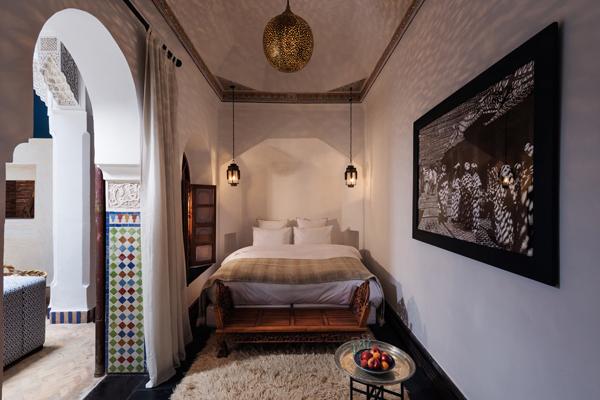 Riad Les Yeux Bleus Bedroom 1