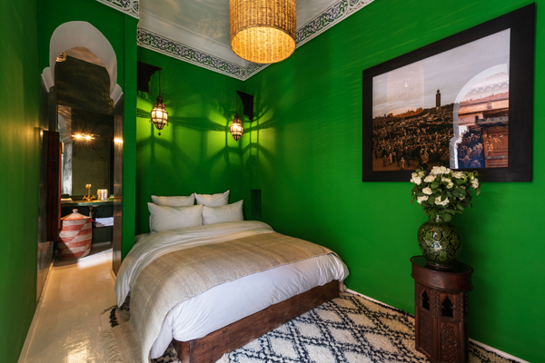 Riad Les Yeux Bleus Bedroom 2